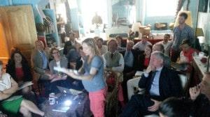Première réunion du comité scientifique, animé par Hélène le Teno