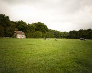 Prairie de 1,4ha située à Montlouis-sur-Loire, où sera implantée la ferme exéprimentale