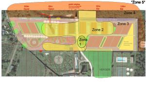 Design Bourdaisière zones 250